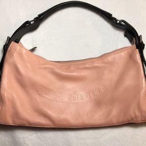 Just Cavalli Pink & Black Shoulder Bag